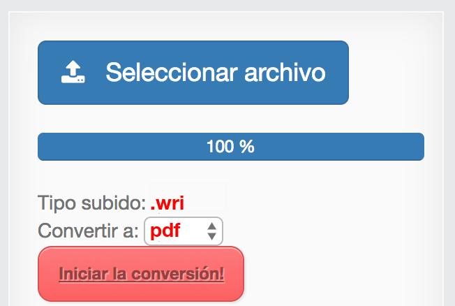 convertir archivo a pdf gratis
